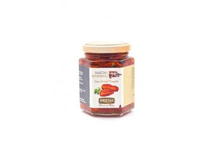 Sušená rajčata s česnekem a mořskou solí 180 g