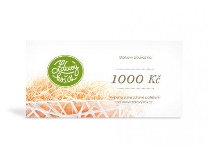 Voucher 1 000 Kč