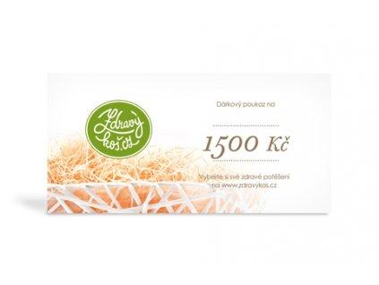 Voucher 1 500 Kč
