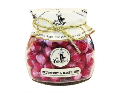 Mrs. Bridges Blueberry & Raspberry Sweets 155g