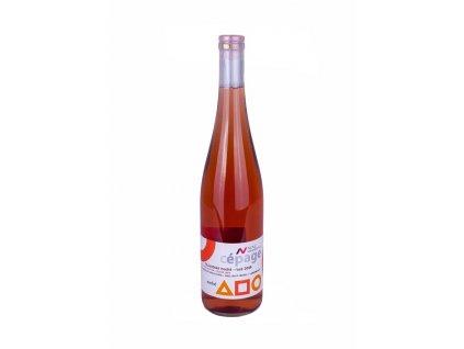 Rulandské modré rosé pozdní sběr 0,75l