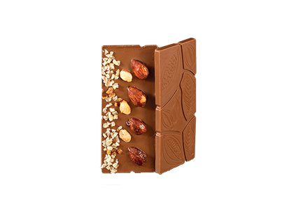Čokoláda Citrón & Oříšky 30g