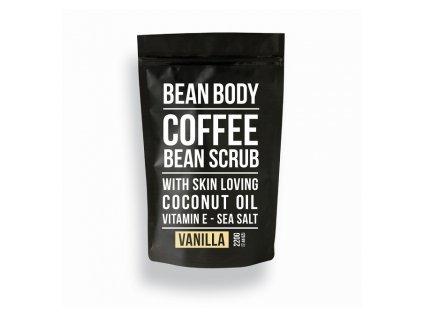 Bean Body Tělový peeling VANILKA 220G