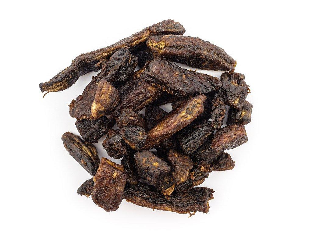 Zdravýkoš Banány sušené kousky z Ekvádoru 1 kg