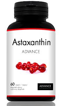 ADVANCE Nutraceutics Astaxanthin ADVANCE - nejlevnější astaxanthin, 60 kapslí