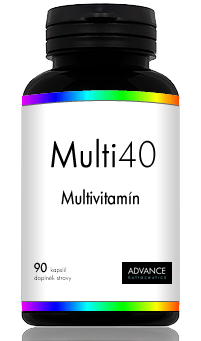 ADVANCE Nutraceutics Multi40 - unikátní multivitamín 90 kapslí