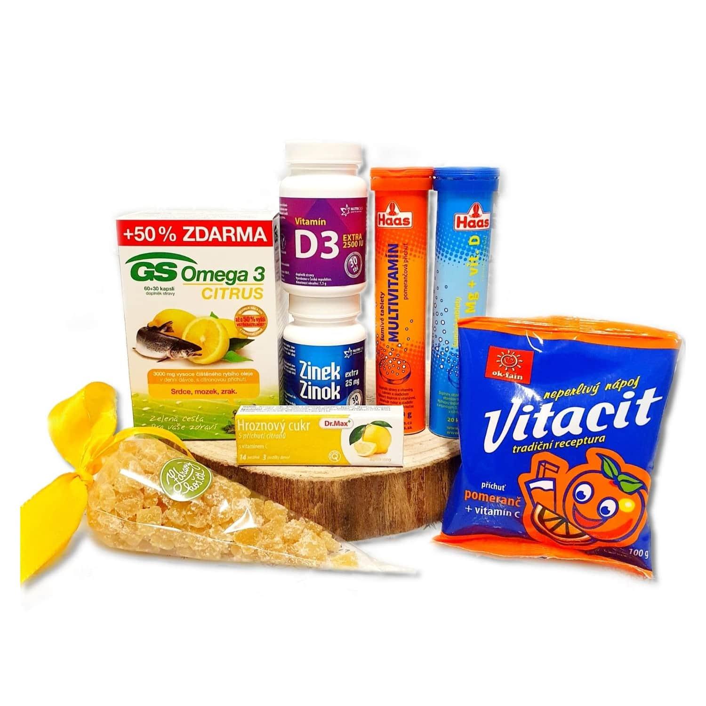 Vitamínový balíček pro posílení imunity s Vitacitem pomeranč