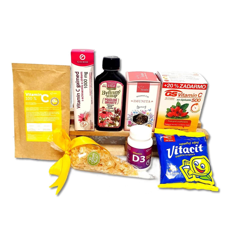 Vitamínový balíček pro posílení imunity s Vitacitem citron