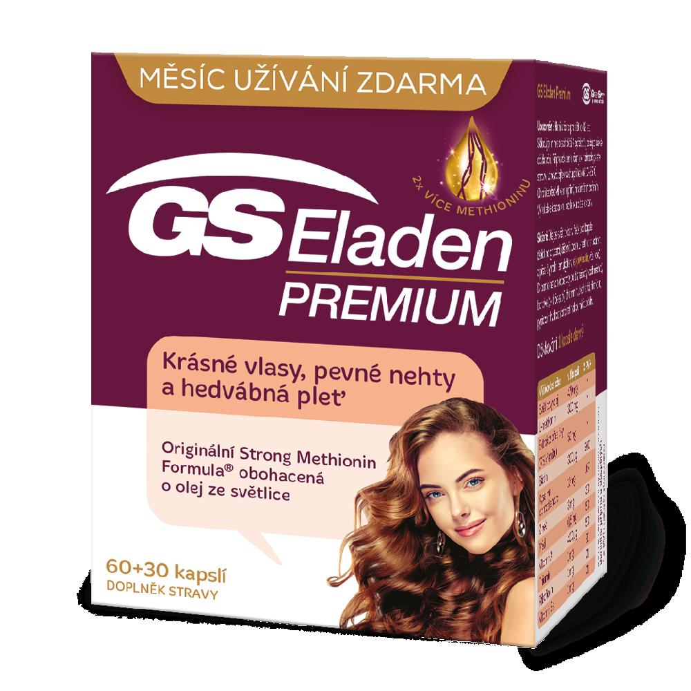 Green Swan Pharmaceuticals GS Eladen PREMIUM, 60+30 kapslí