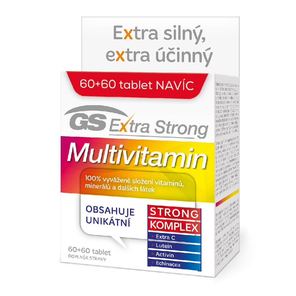 Green Swan Pharmaceuticals GS Extra Strong Multivitamin, 60+60 tablet