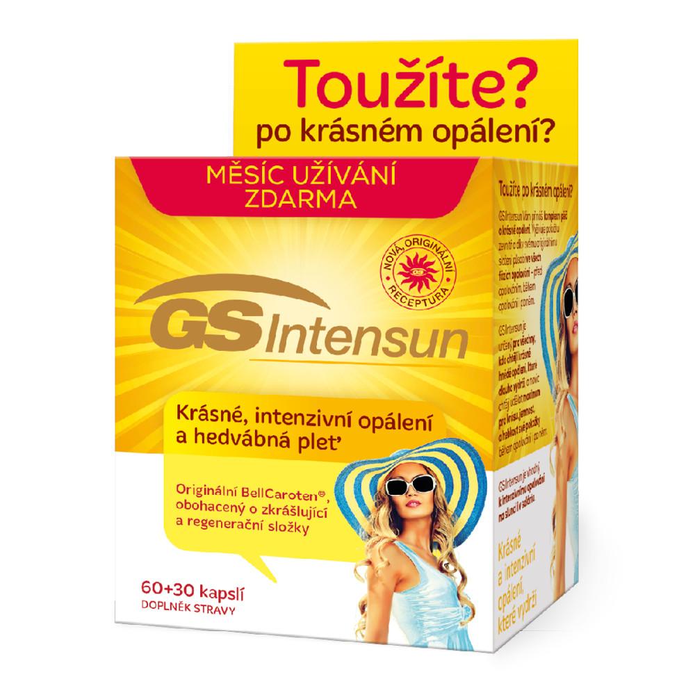 Green Swan Pharmaceuticals GS Intensun 60+30 kapslí