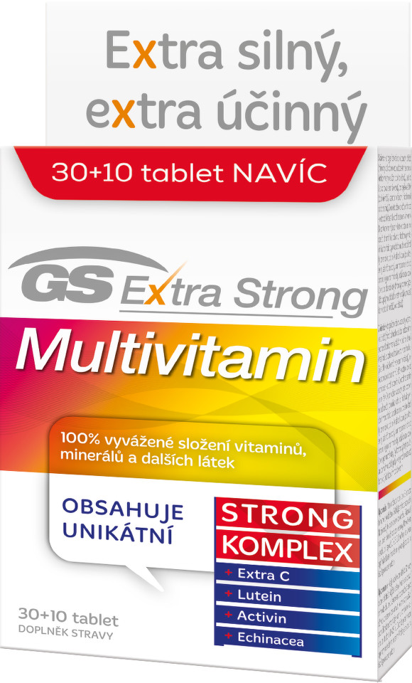 Green Swan Pharmaceuticals GS Extra Strong Multivitamin, 30+10 tablet