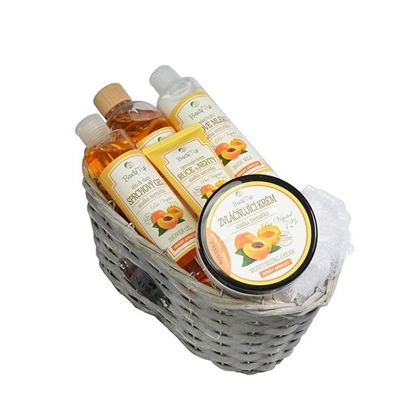 Vivaco Dárkové balení kosmetiky Meruňka BODY TIP