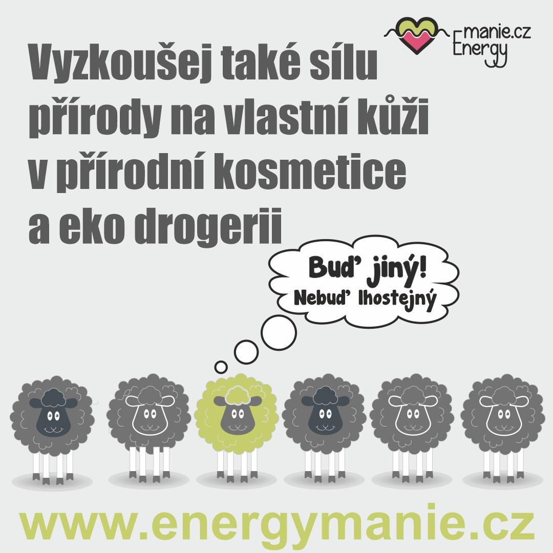 Přírodní kosmetika a eko drogerie - Energymanie.cz