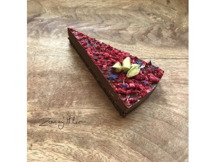 Čokoládovo malinový dort 1 díl