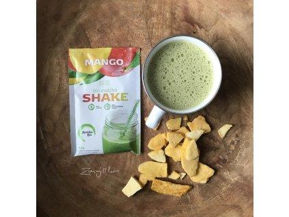 mango Matcha Tea shake