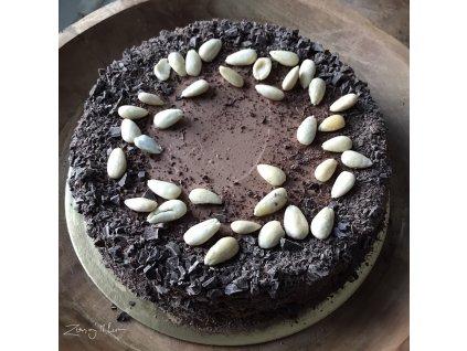 Čokoládový dort pro 8-20 osob (bez lepku)