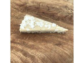low carb vanilkovo- kokosový dort 1 díl