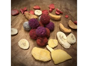 mini proteinové kuličky bez alergenů, veganské