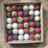 Dárková krabička proteinových a ovocných mini kuliček 36ks