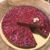 Čokoládovo malinový dort