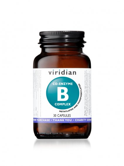 co enzyme B complex 30 viridian