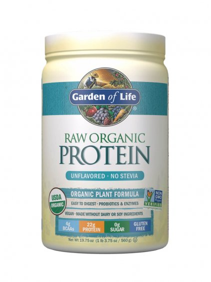 vegánsky RAW Organic Protein Natural Garden of Life