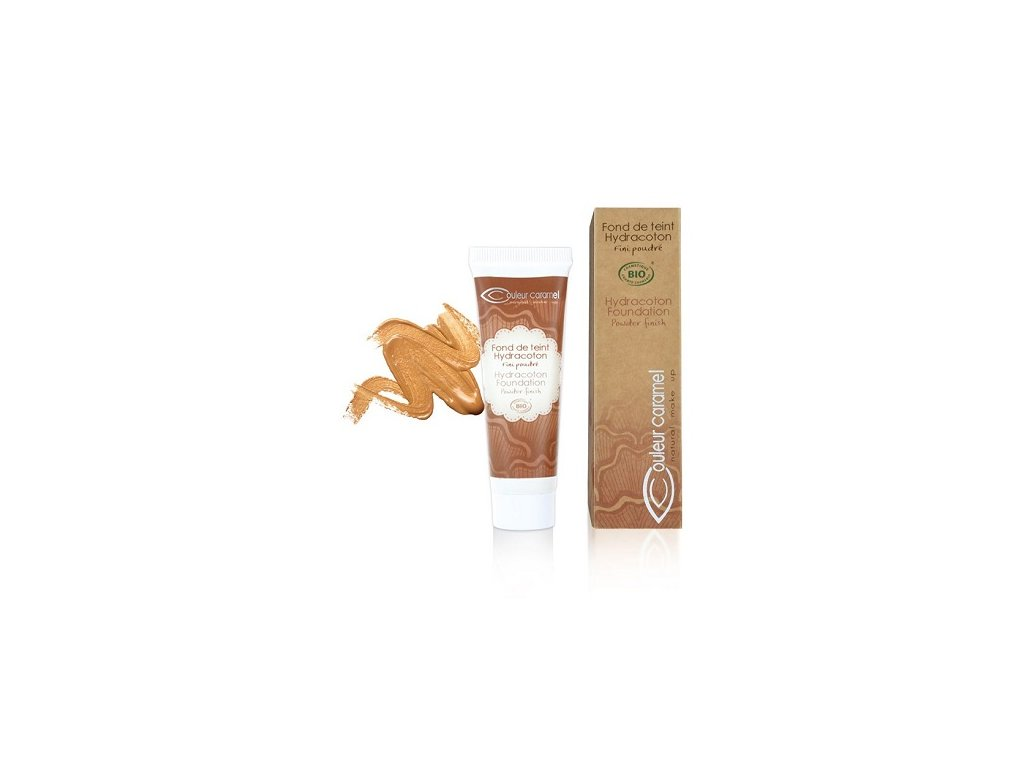 1006 tekuty make up s extraktem z bavlny c 14 warm sand couleur caramel