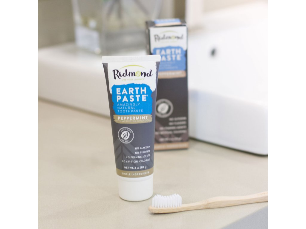 1207 earthpaste prirodni zubni pasta s bentonitovym jilem matou peprnou a aktivnim cernym uhlim