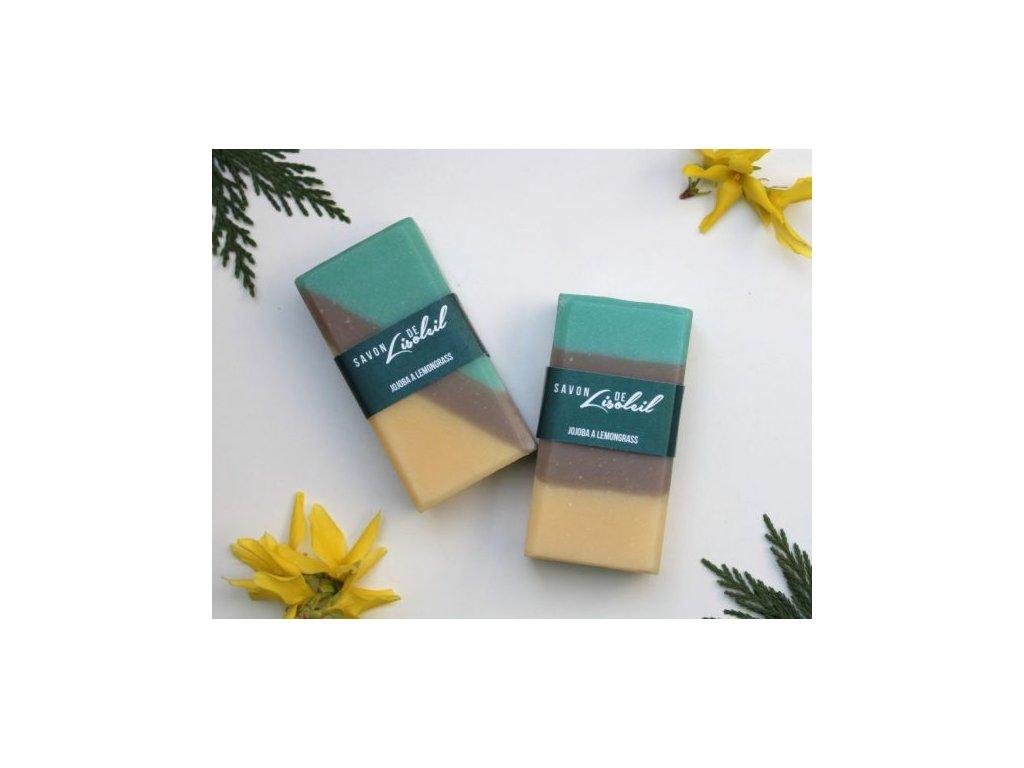 130 mydlo savon de lisoleil jojoba a lemongrass pasek