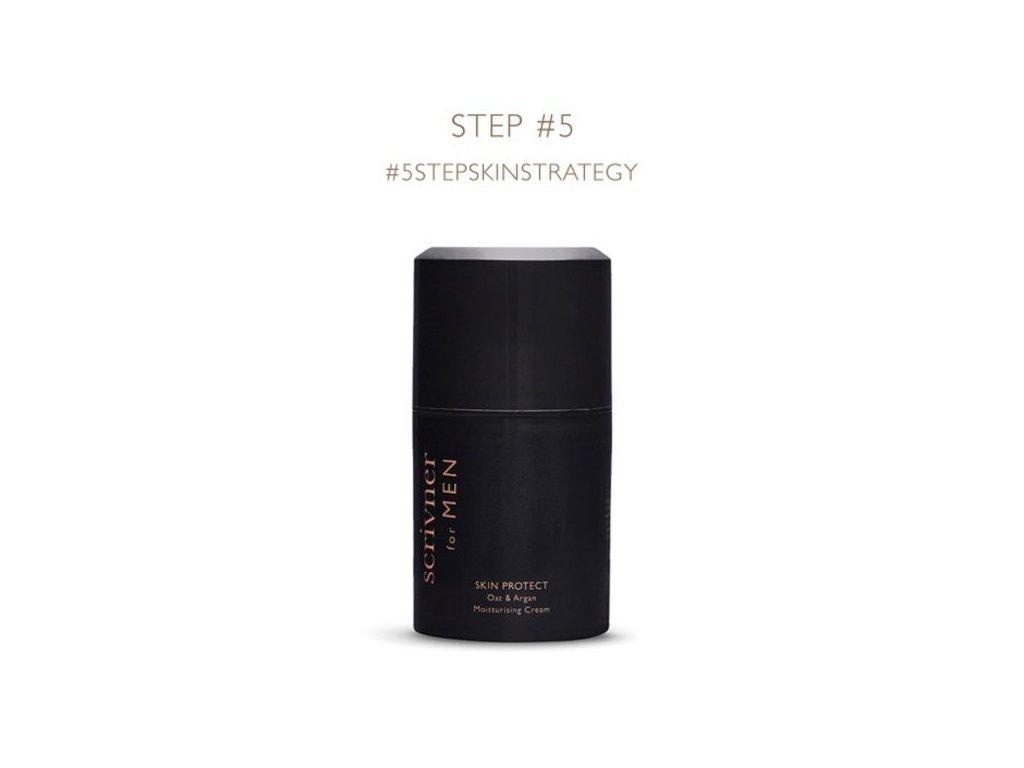 Scrivner for MEN Skin Protect- hydratační krém (Plné balení / Vzorek (ml) vzorek 5 ml)