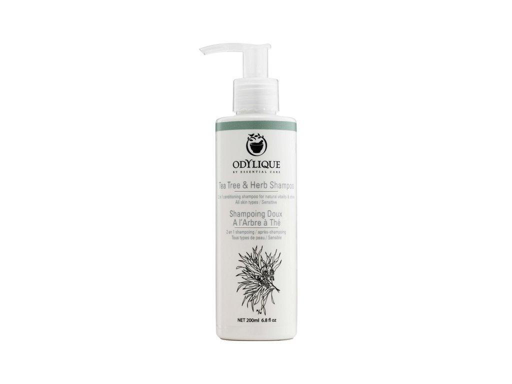 Odylique - Bylinný šampon s TEA TREE olejem (Objem (ml) 500 ml)