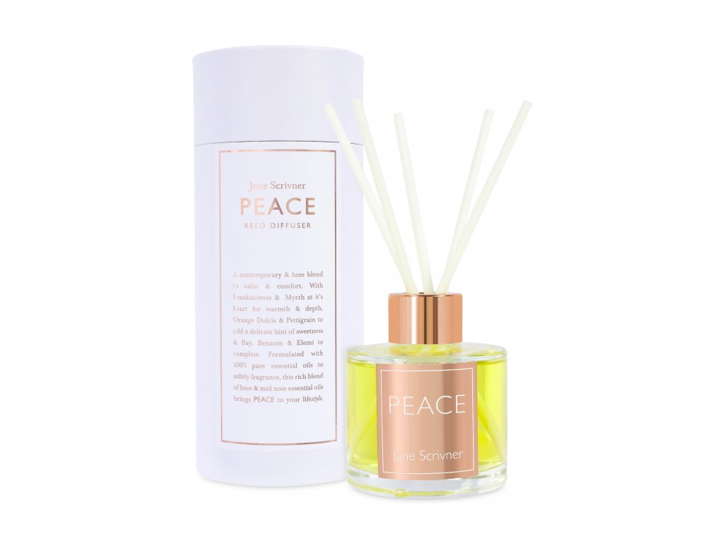 PEACE Reed Diffuser Packaging