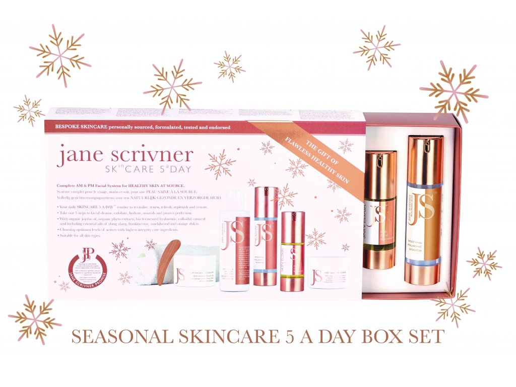 SEASONAL SKINCARE 5 A DAY BOX SET