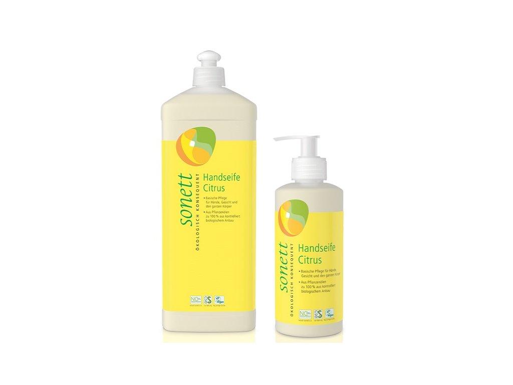 Sonett tekuté mýdlo citrus (Objem (ml) 300 ml)