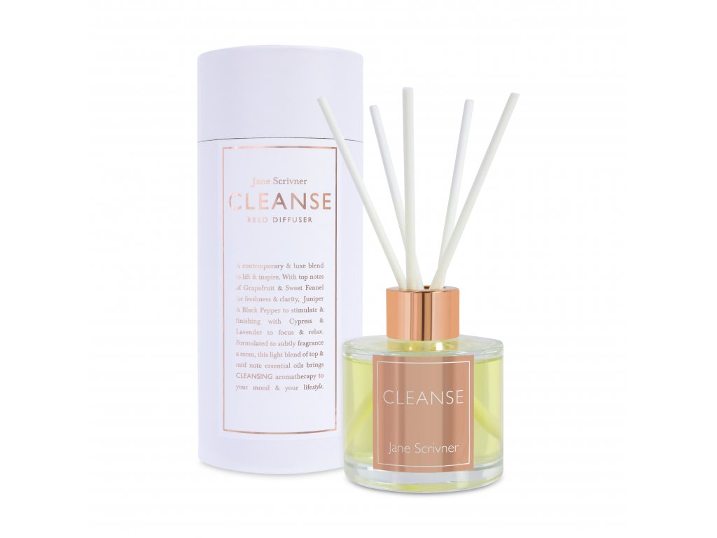 CLEANSE Reed Diffuser Packaging