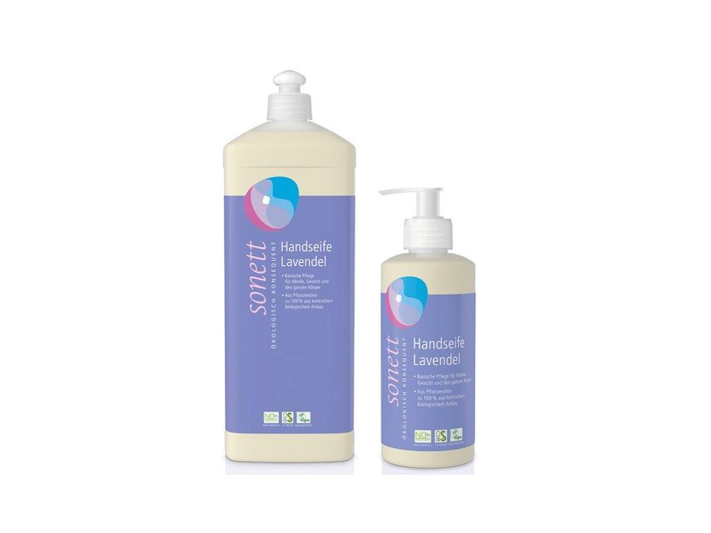 Sonett tekuté mýdlo levandule (Objem (ml) 300 ml)