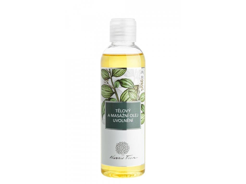 Nobilis Tilia Tělový a masážní olej Uvolnění