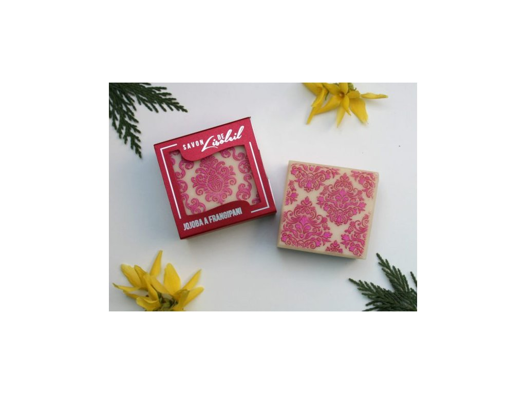 313 mydlo savon de lisoleil jojoba a frangipani