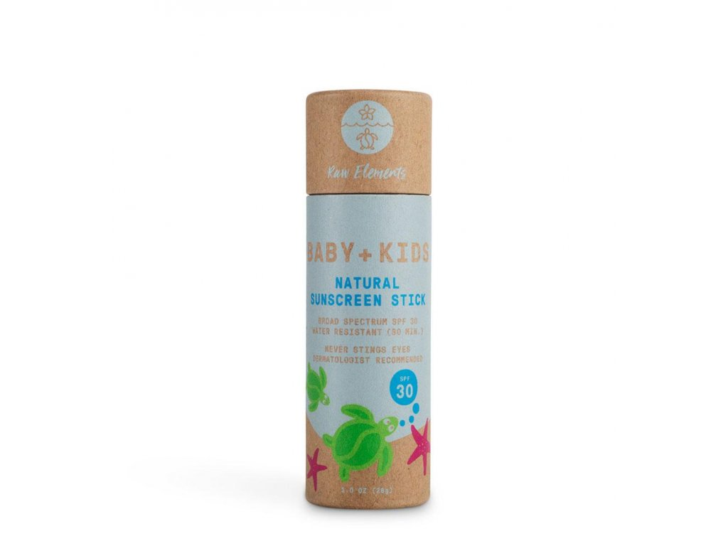 ze zeme raw elements baby kids spf 30 stick
