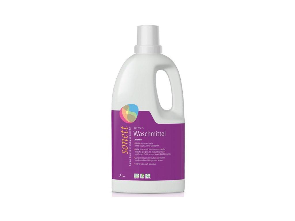 Sonett prací gel na bílé i barevné prádlo levandule (Objem (l) 2 l)
