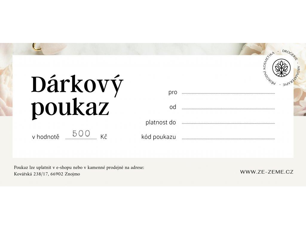 ZeZeme Poukaz 1000 Kovarska 210x99