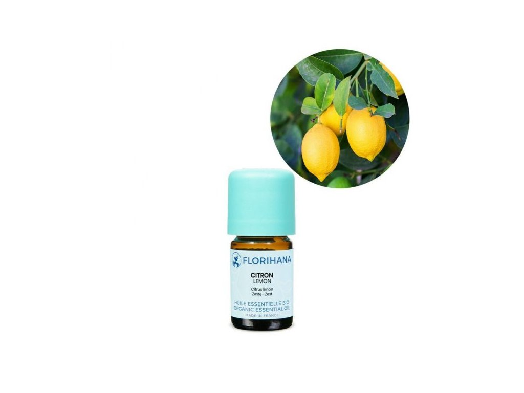 439 etericky olej citron bio florihana