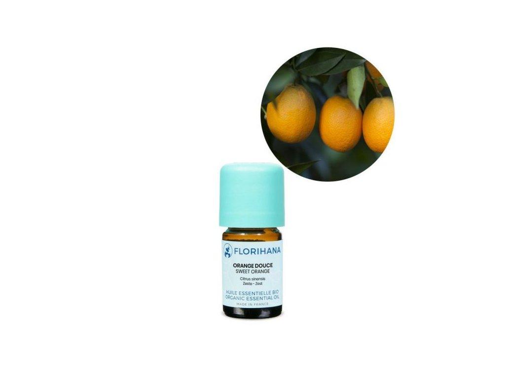 463 etericky olej pomeranc sladky bio florihana