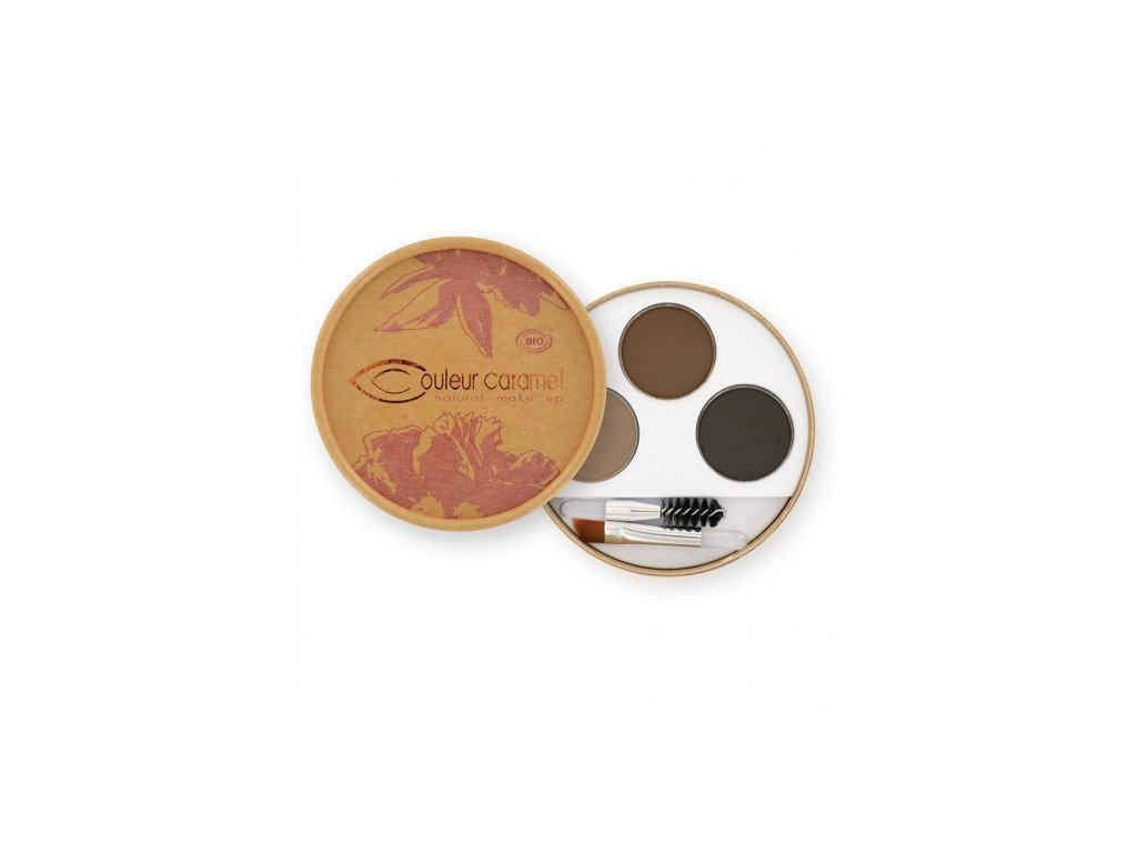 487 paletka na oboci pro brunetky bio couleur caramel