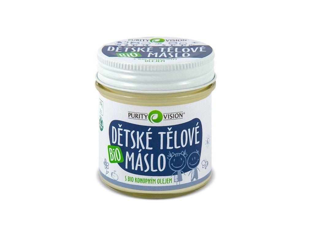 Dětské tělové máslo Purity Vision (Objem (ml) 200 ml)