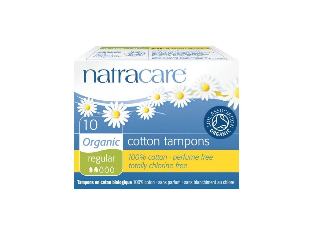 Natracare tampony Regular (Počet kusů 20 ks)