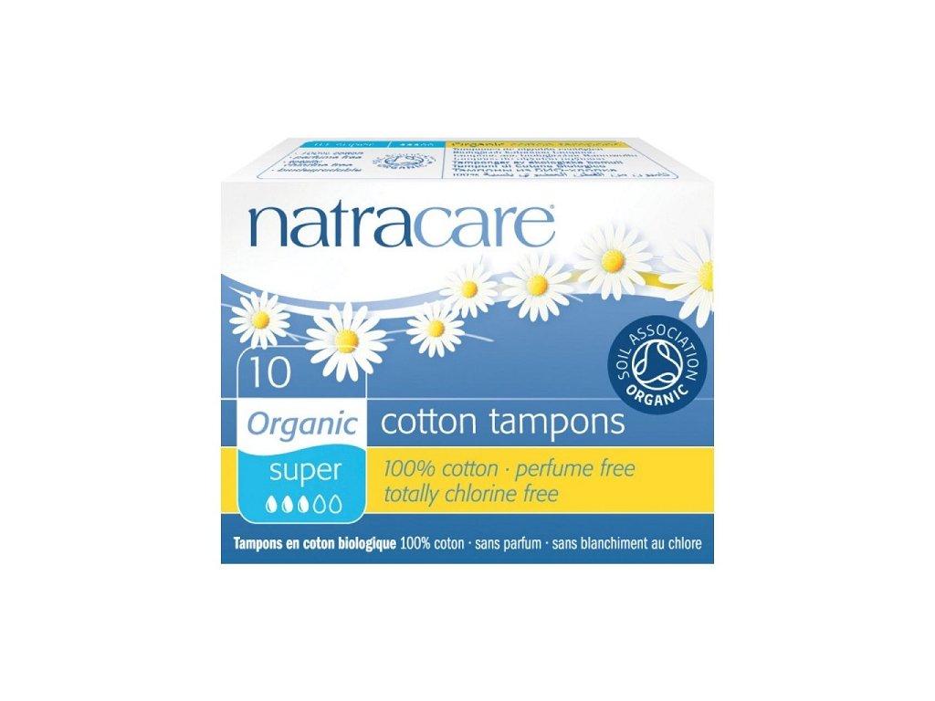 Natracare tampony Super (Počet kusů 20 ks)