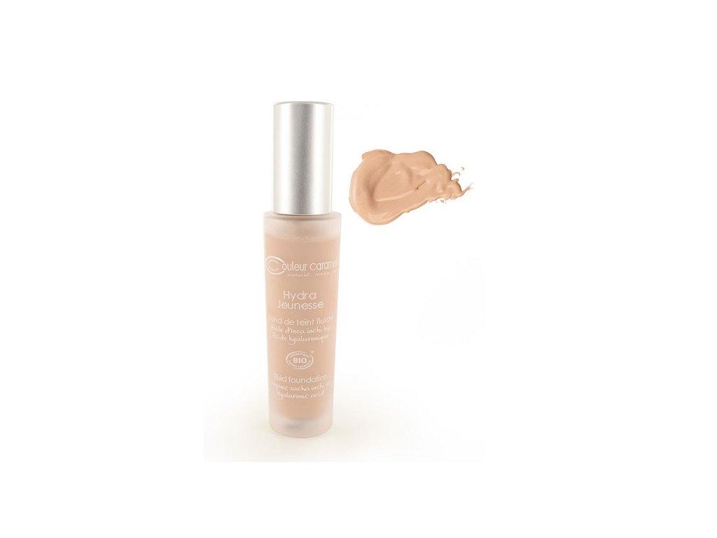 589 hydratacni make up c 23 skin beige bio couleur caramel