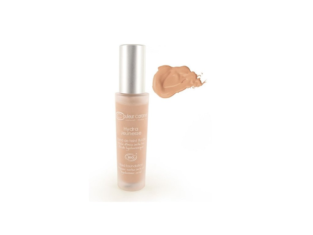 595 hydratacni make up c 24 sand bio couleur caramel